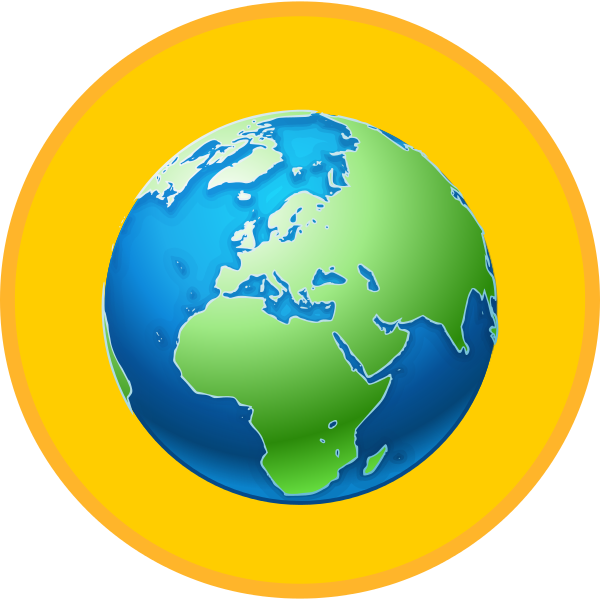 Europe clipart earth planet. File gold medal world