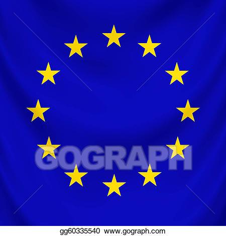European union draped stock. Europe clipart flag europe