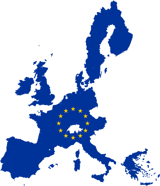 Image px map of. Europe clipart flag europe