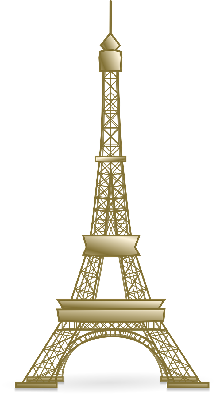 Tower clipart easy. France eiffel french historica