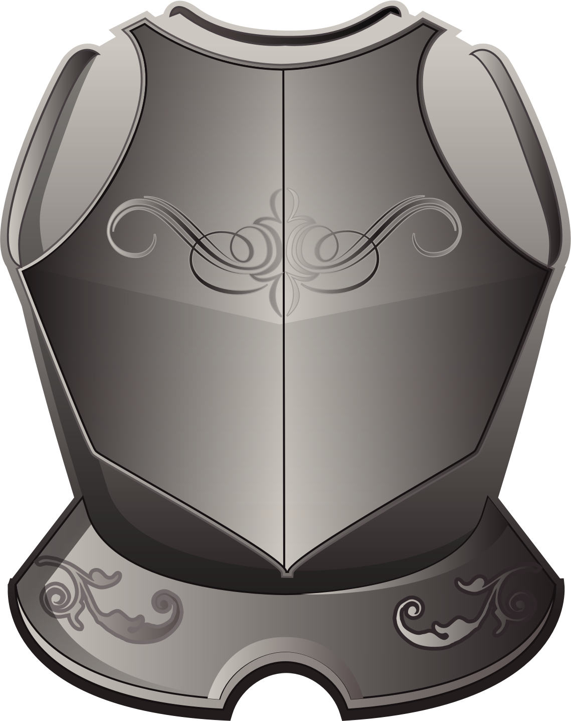 Warrior clipart armour shield. Armor image group raseone