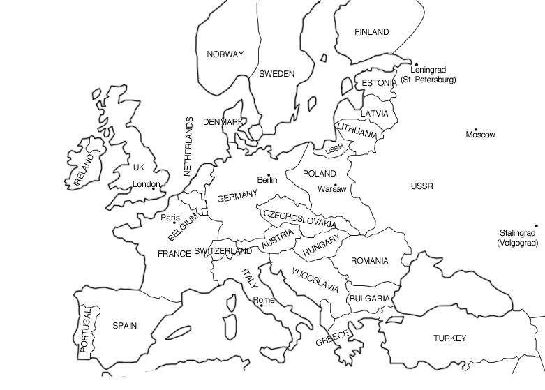 Europe clipart labled. Coloring pages democraciaejustica european
