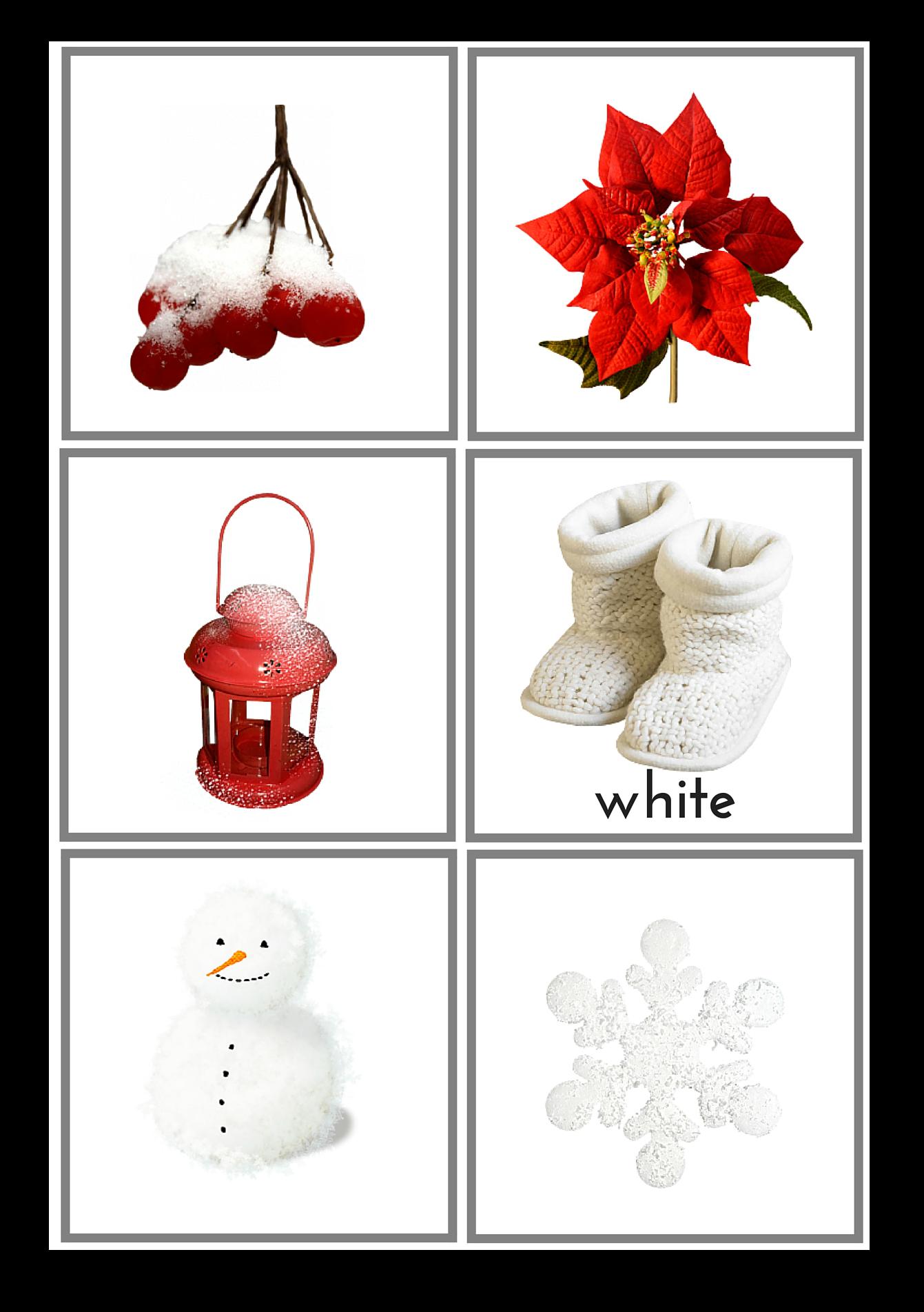 Winter pack nature. Europe clipart montessori