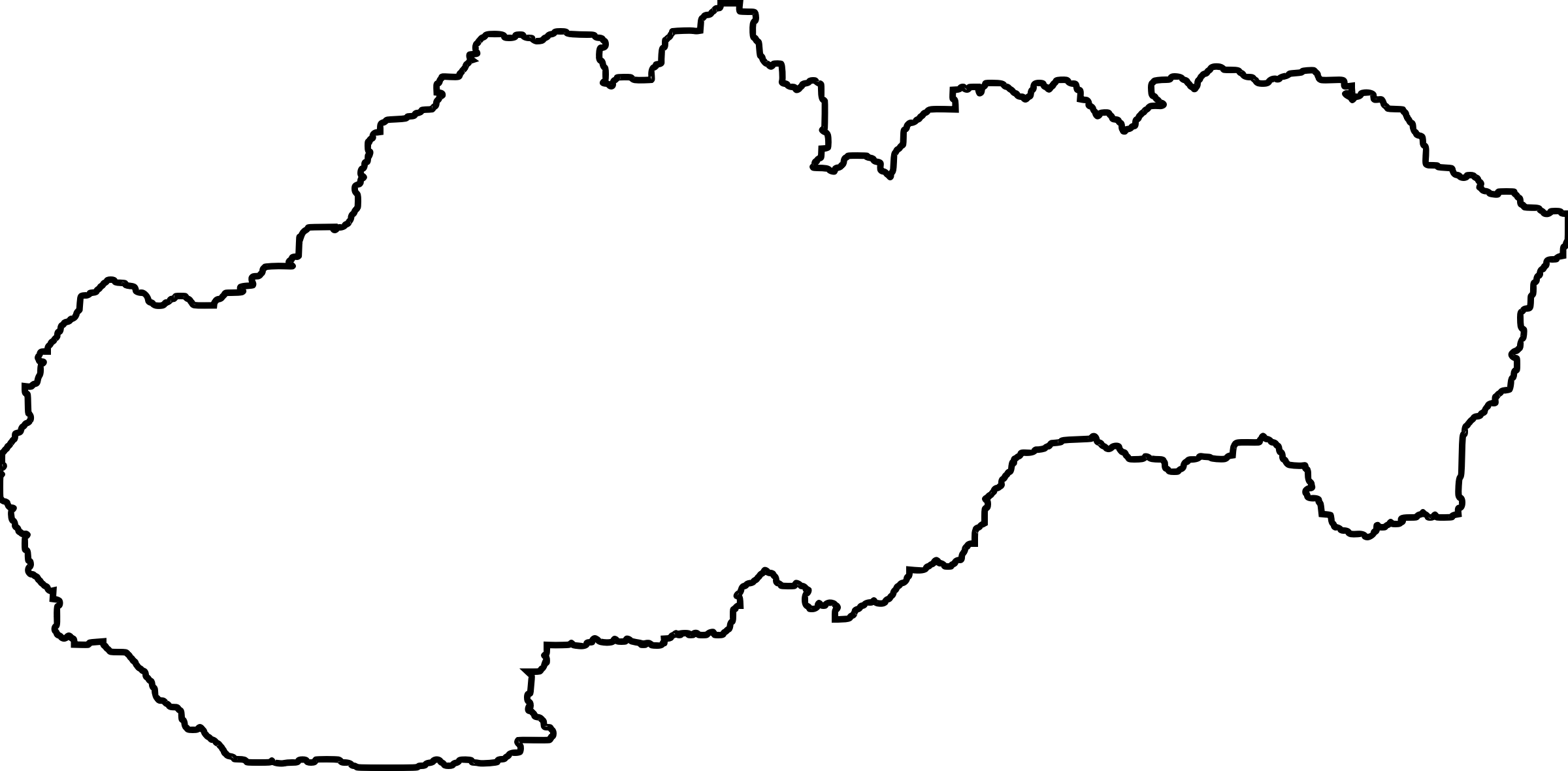 Of slovakia with white. Europe clipart outline