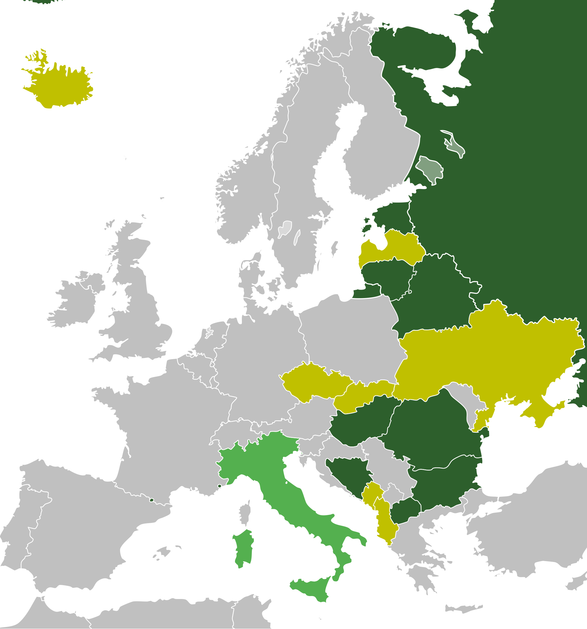 Atlas of wikimedia commons. Europe clipart political map