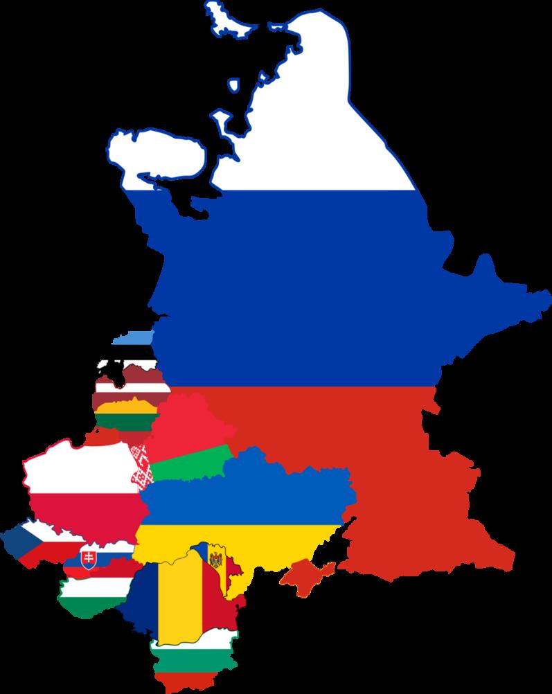 Europe clipart political map. Flag of eastern european
