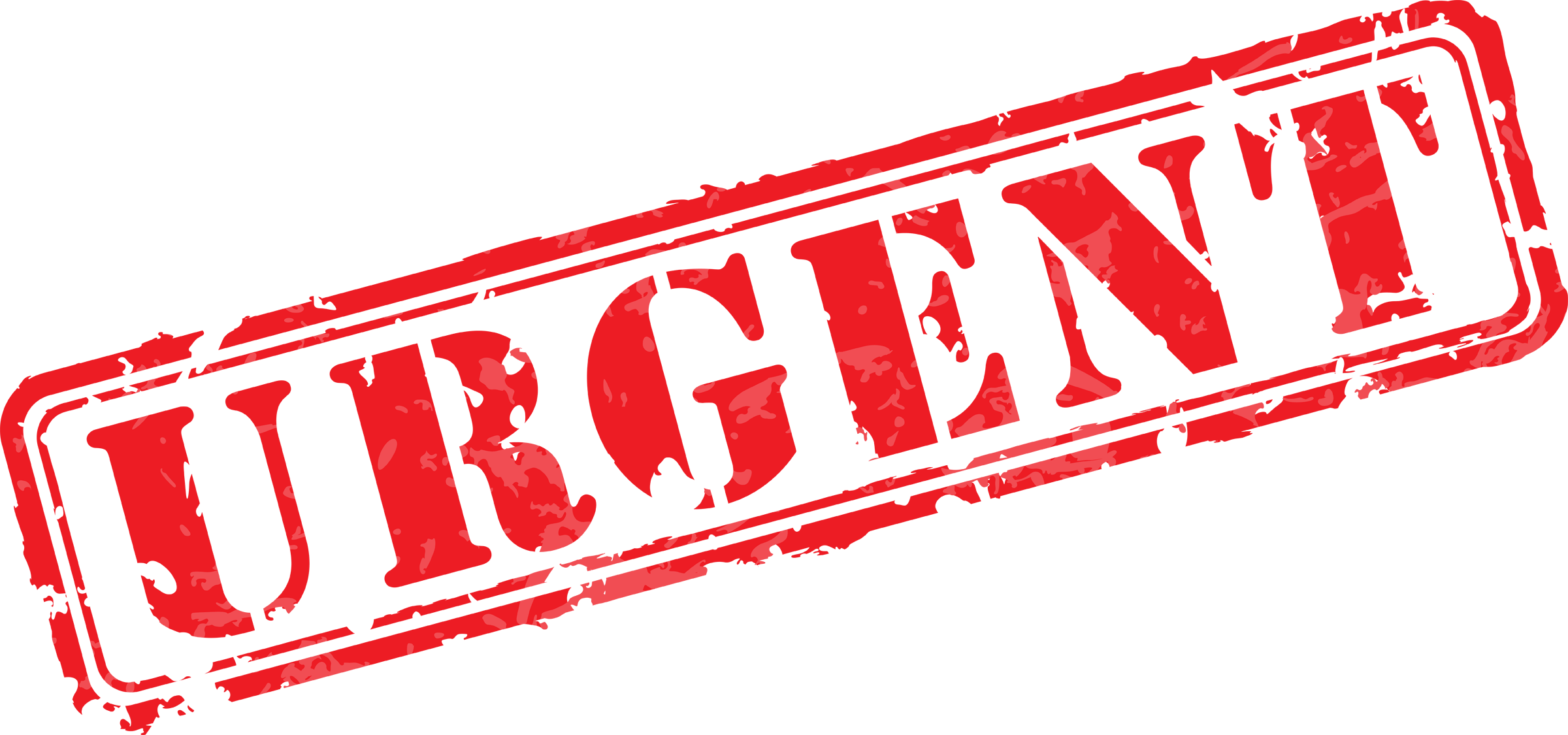 Urgent rubber iclipart png. Stamp clipart ink stamp