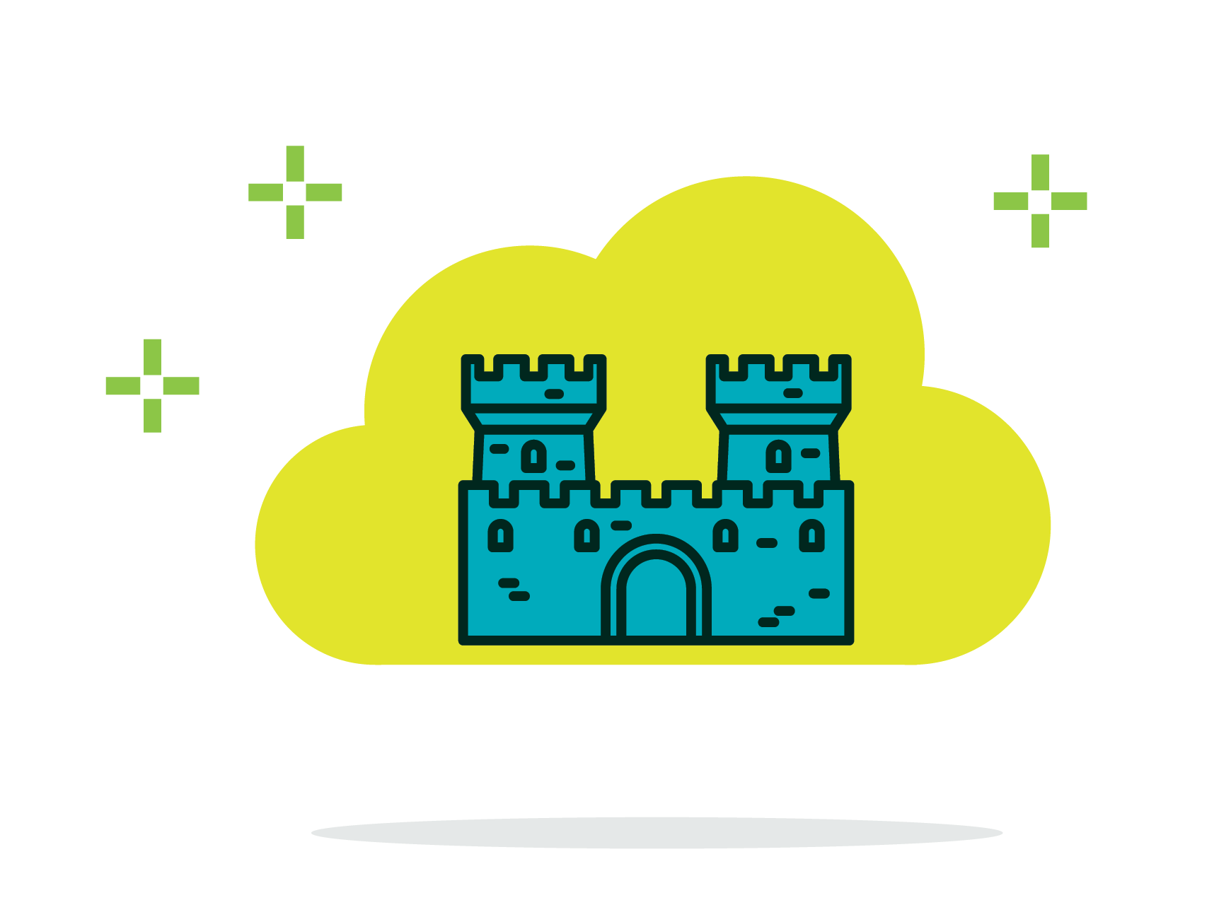Cloud based technology powering. Europe clipart traceable