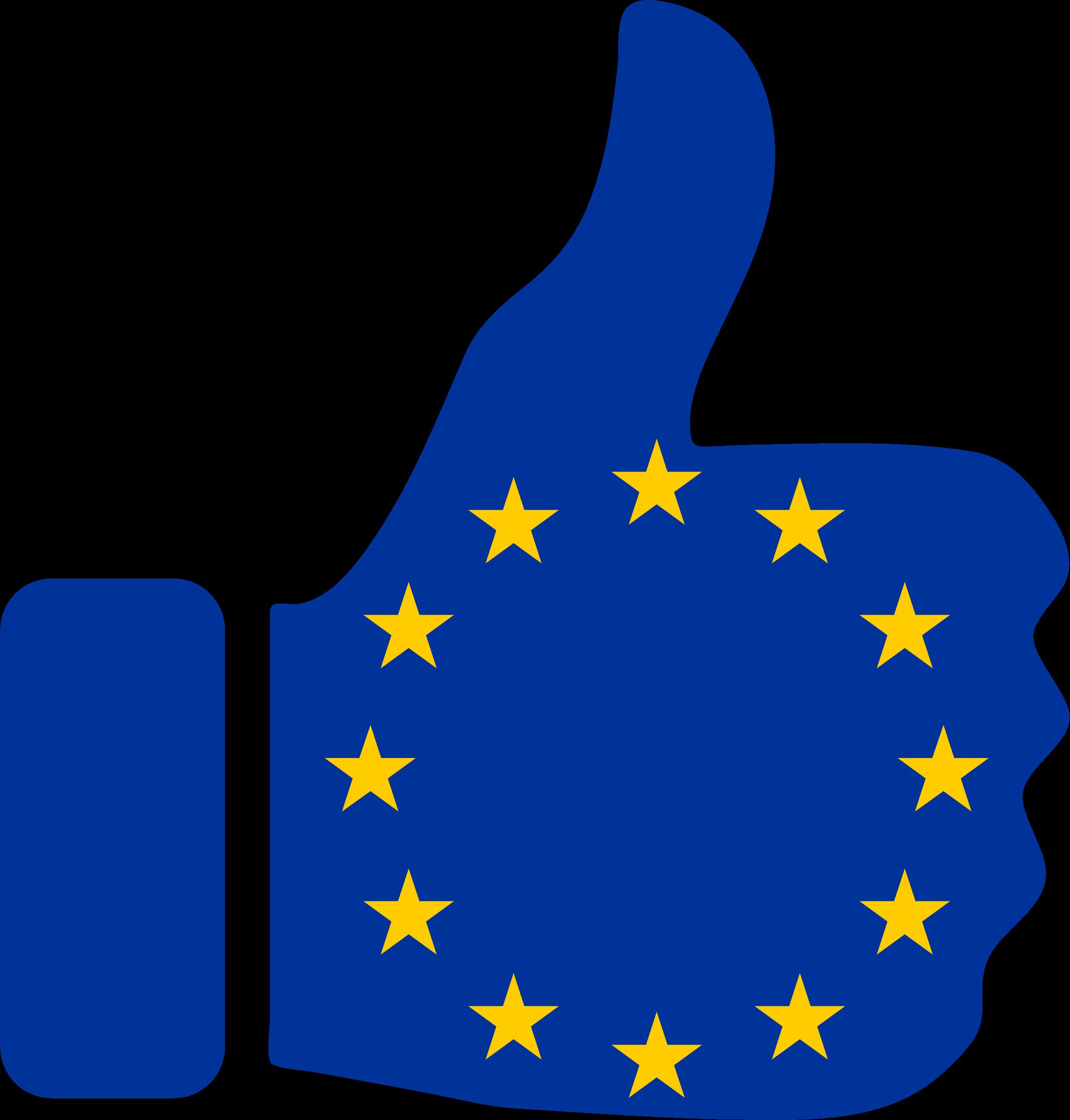 Europe clipart transparent. Thumbs up big image