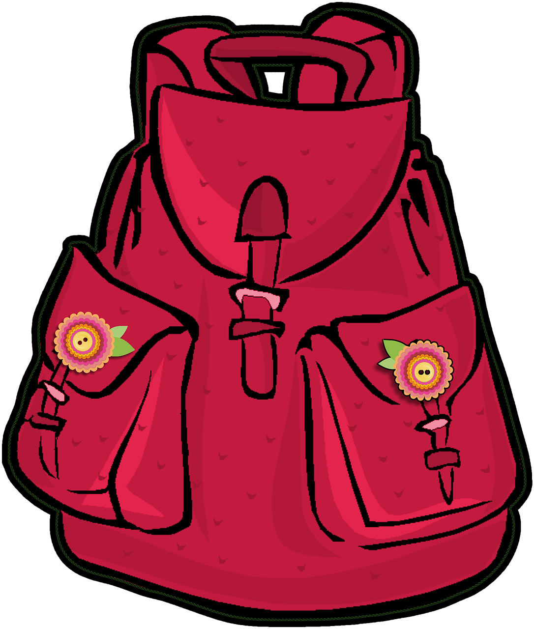 Europe clipart travel europe. Pink backpack girl school