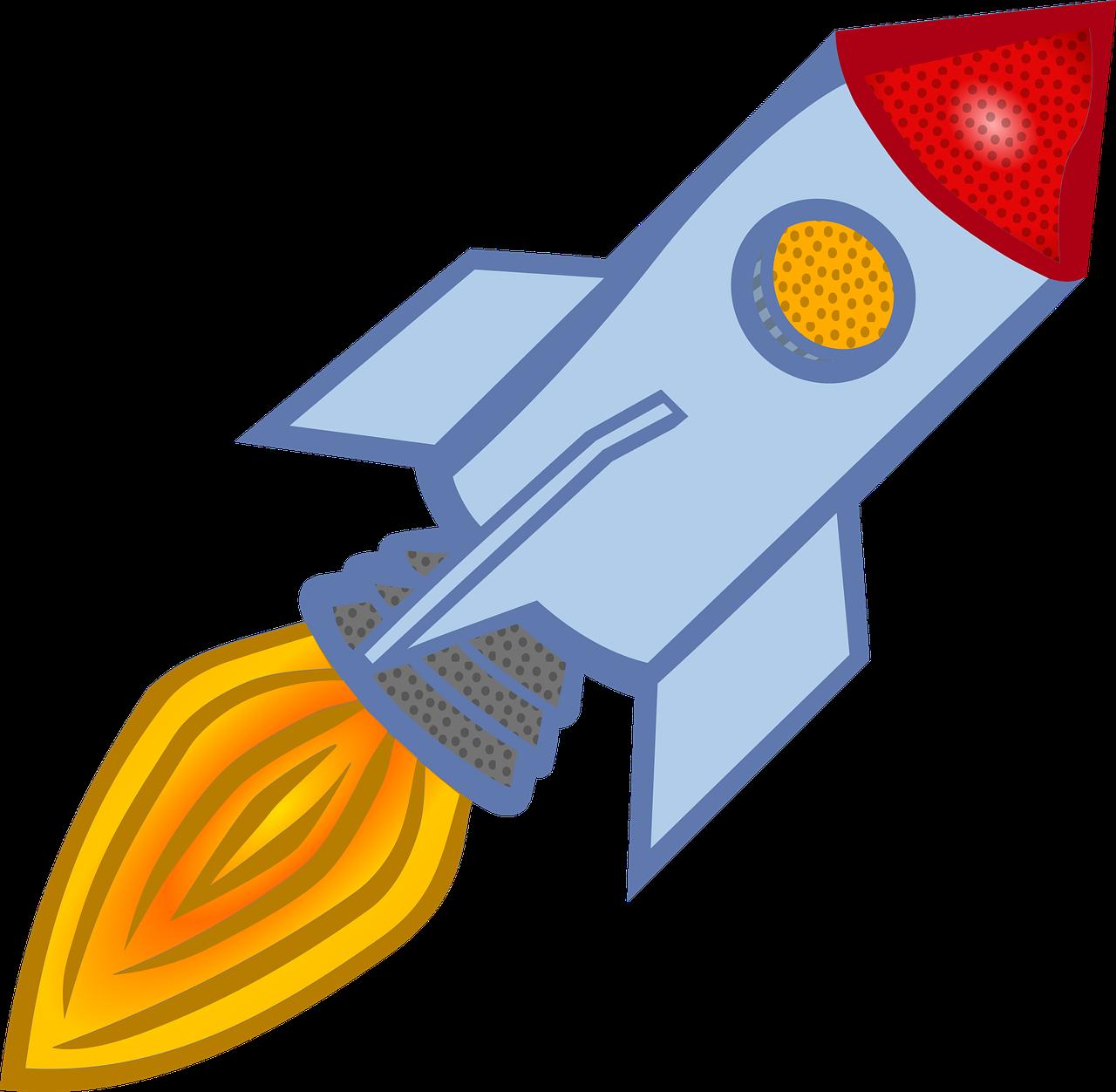 Travel rocket vehicle astronaut. Galaxy clipart space flight