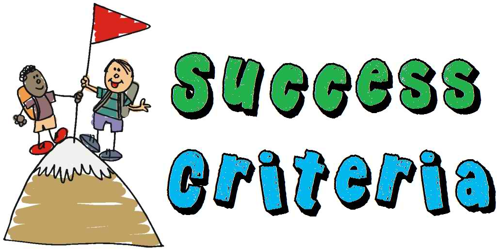 Criteria for judging rhed. Evaluation clipart criterion