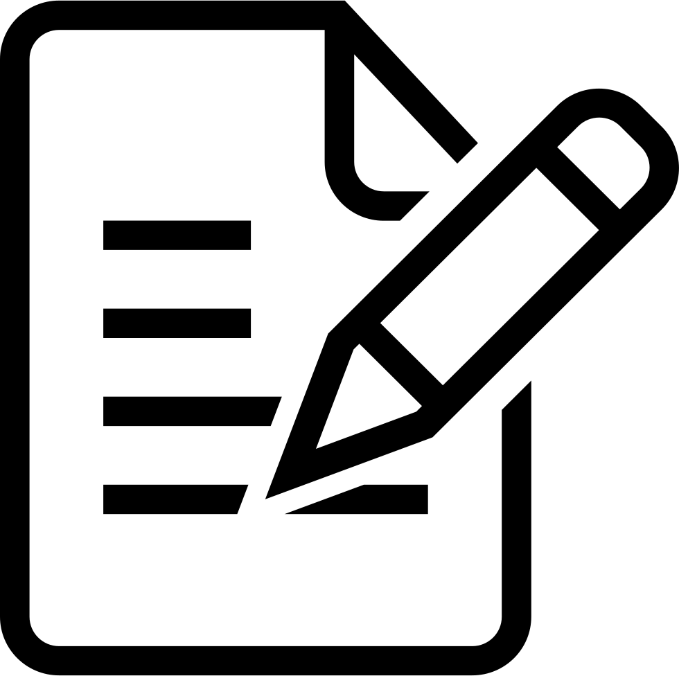 Evaluation clipart evaluation form. Svg png icon free