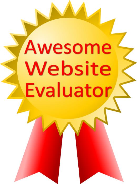 Edtech using the web. Evaluation clipart evaluator