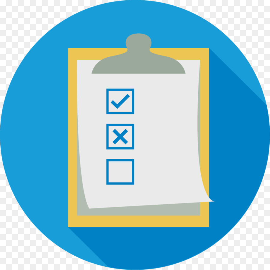 Blue yellow text transparent. Evaluation clipart icon