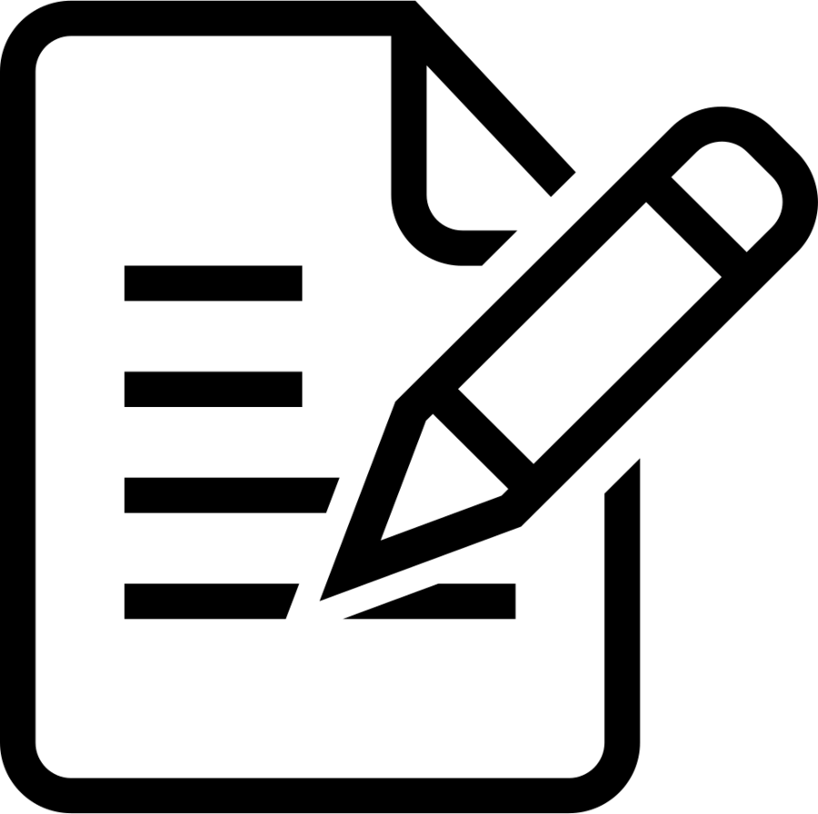 Information text font . Evaluation clipart icon