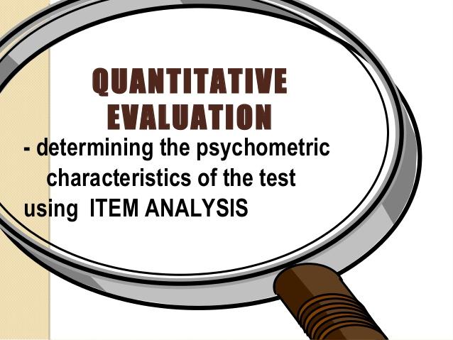 Evaluation clipart item analysis. Portal