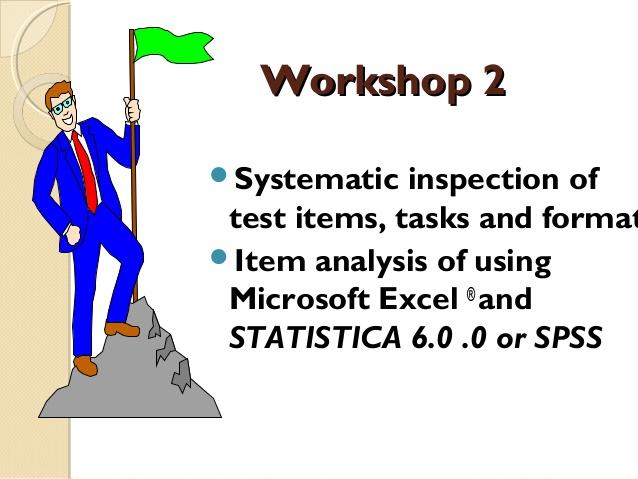 Evaluation clipart item analysis.