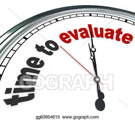 Stock illustration time to. Evaluation clipart management review