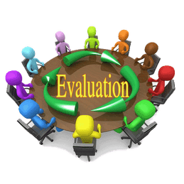 Evaluation clipart planning. Social committee cliparts zone