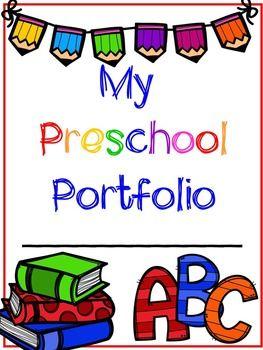 Preschool clipart portfolio. Assessments and student portfolios