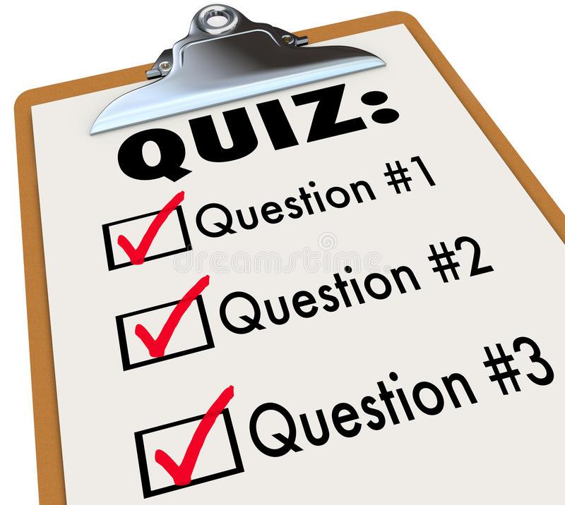 Evaluation clipart questionnaire. Resolution test quiz
