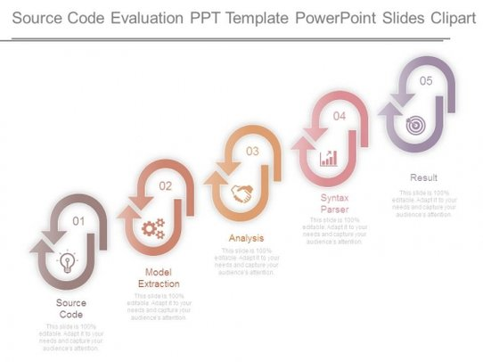 Evaluation clipart source. Code ppt template powerpoint