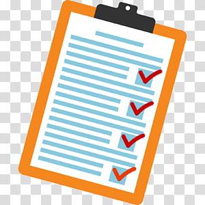 Evaluation clipart survey. Questionnaire transparent background png