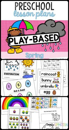 best spring theme. Evaporation clipart afternoon activity