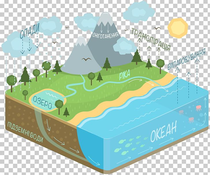 Water cycle diagram png. Evaporation clipart condensation