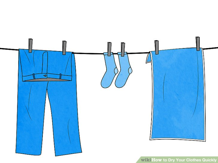 ways to dry. Evaporation clipart hang laundry