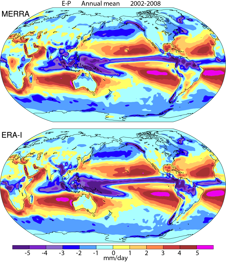 Ncar climate data guide. Evaporation clipart percipitation