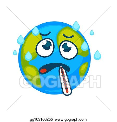 Evaporation clipart rain. Vector stock ill earth