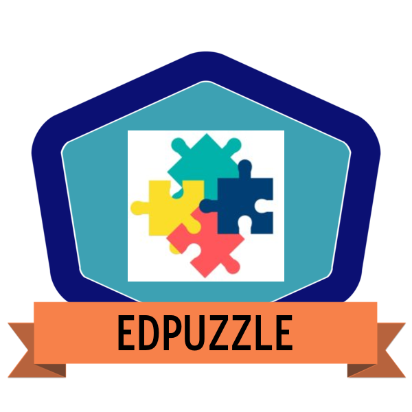 Edpuzzle credly . Evidence clipart badge
