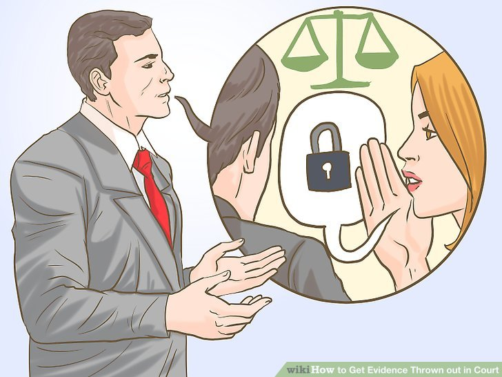 How to get thrown. Evidence clipart court trial