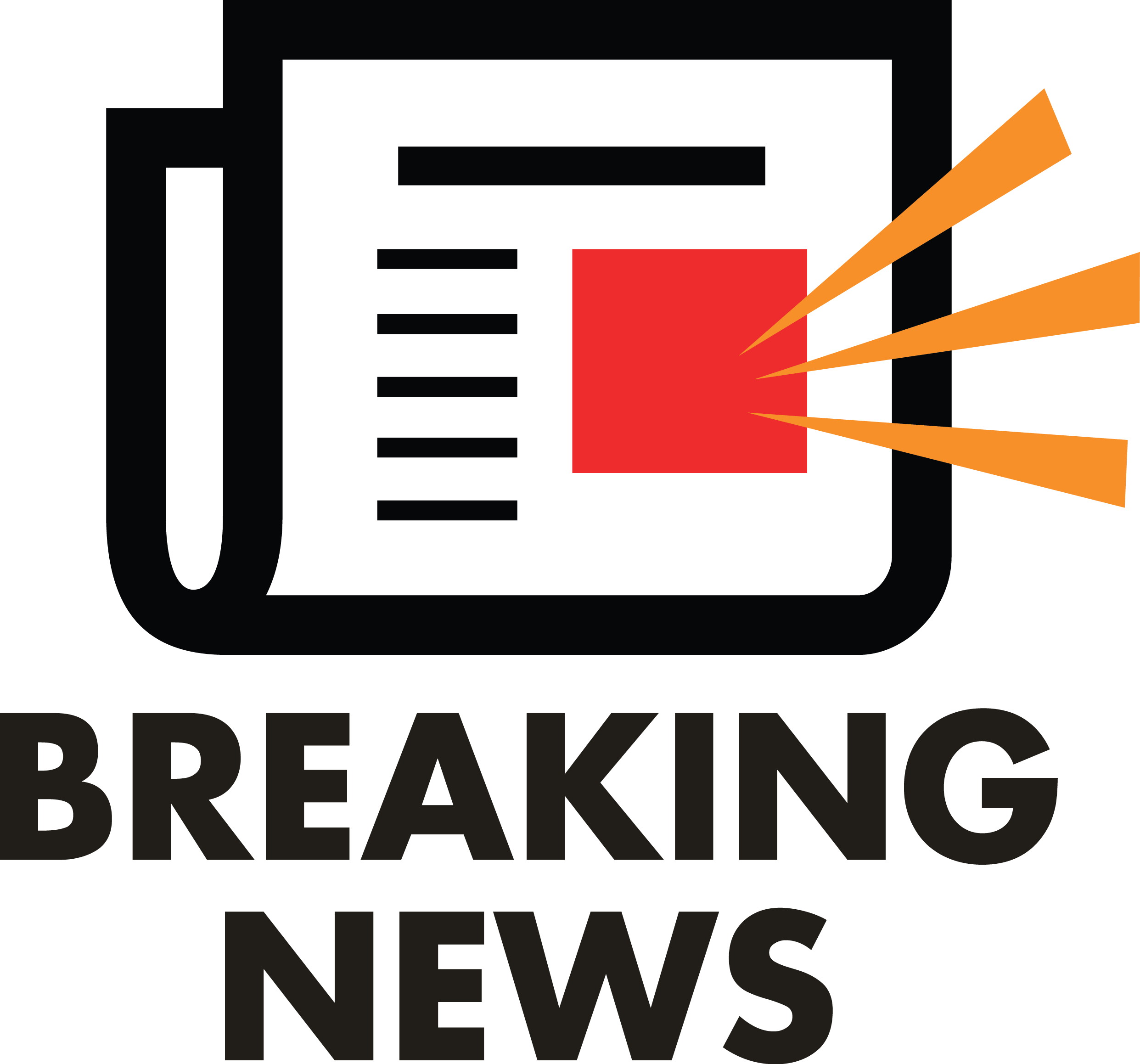 Newspaper clipart logo. Breaking news delaware judge