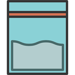 Investigation package icon . Evidence clipart evidence bag