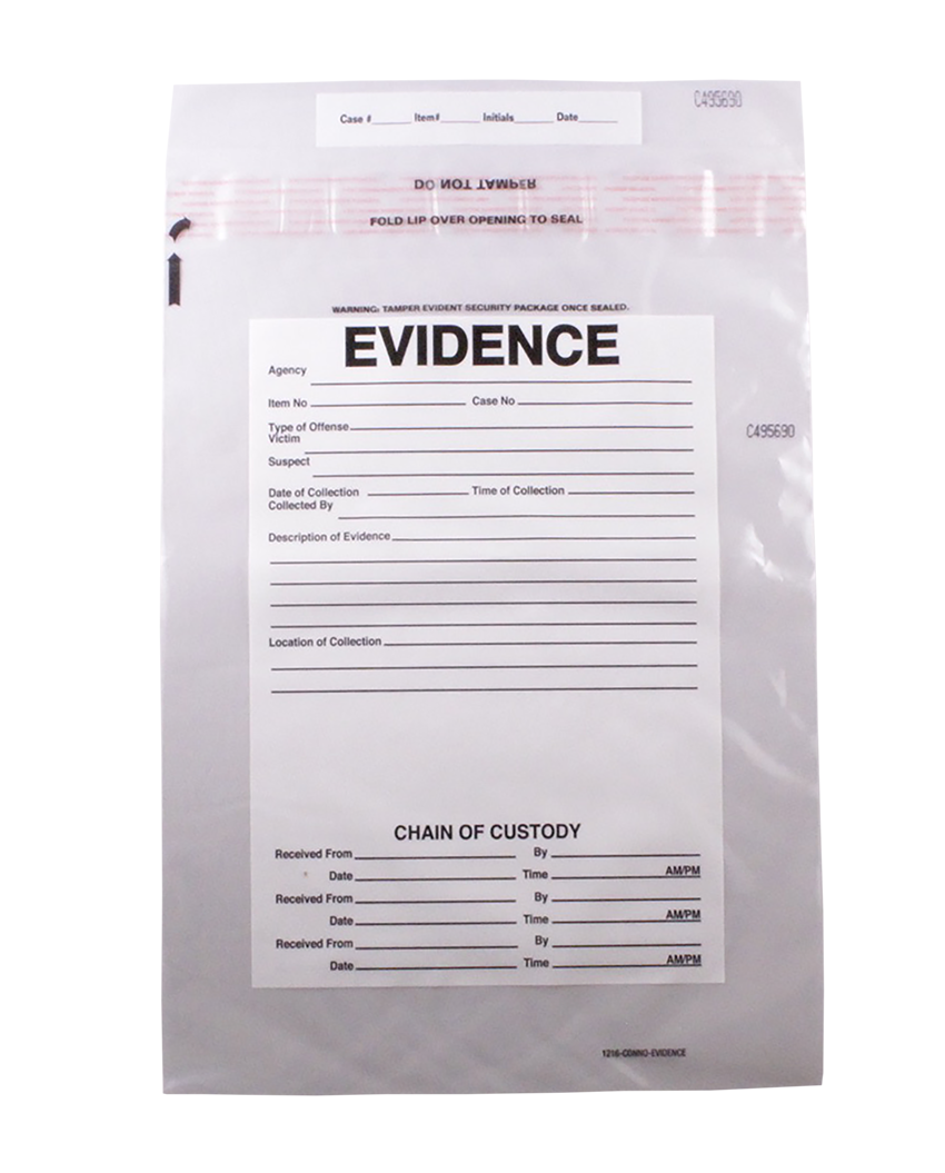 Trend bags and inmate. Evidence clipart evidence bag