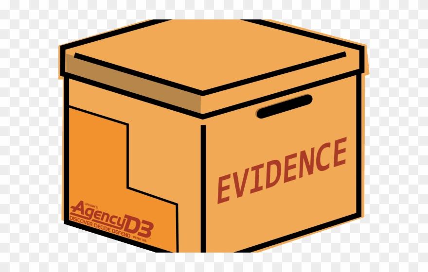 Move storage agency d. Evidence clipart evidence box