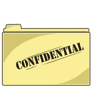Evidence clipart evidence folder. Confidential image file