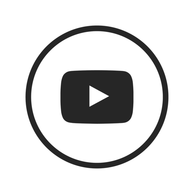 Youtube black white png. Evidence clipart icon