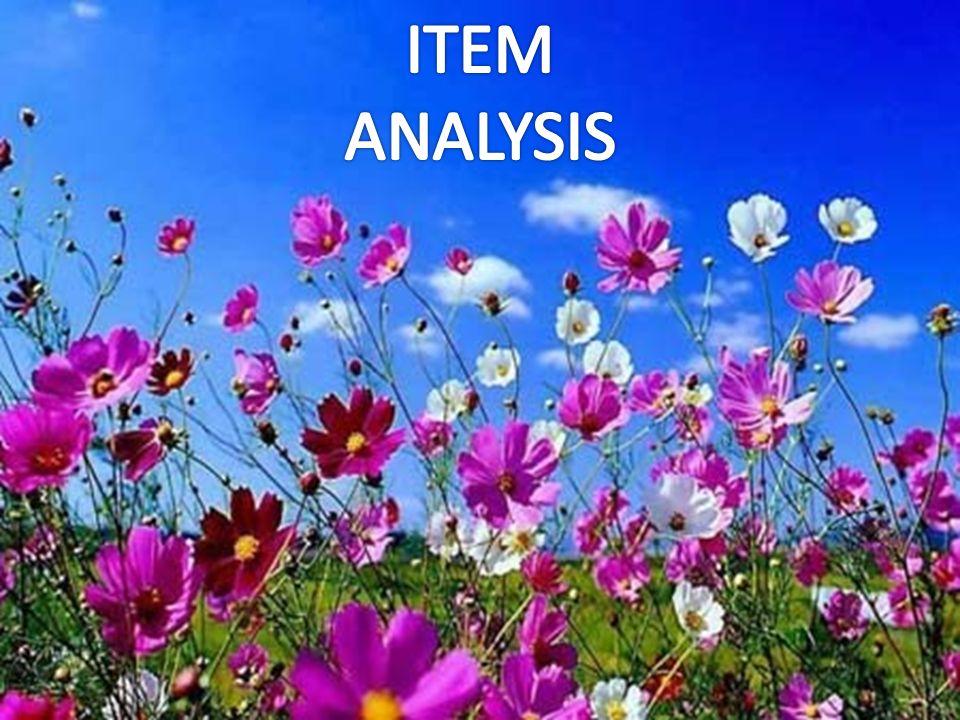 . Evidence clipart item analysis