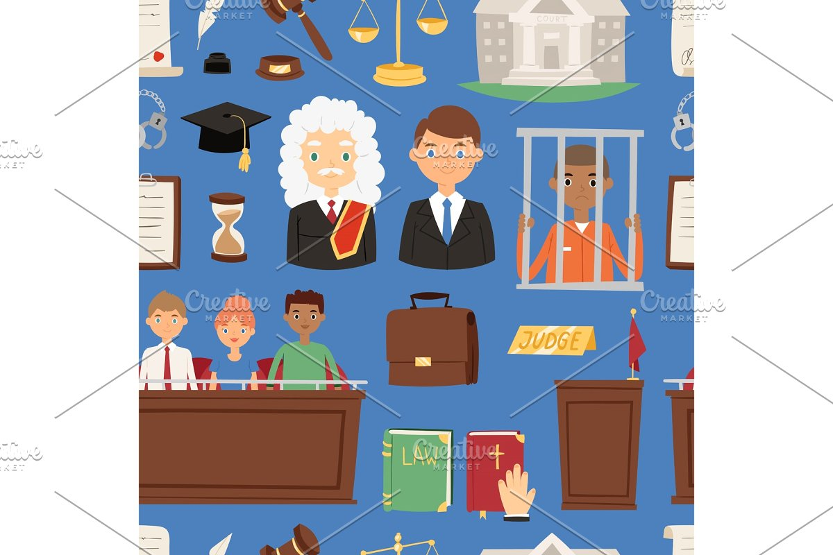 Law justice vector judgement. Evidence clipart judge jury