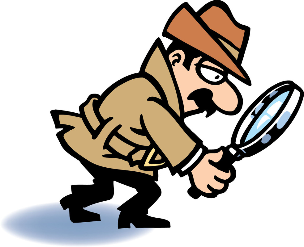 Vocabulary english in primary. Evidence clipart look for clue