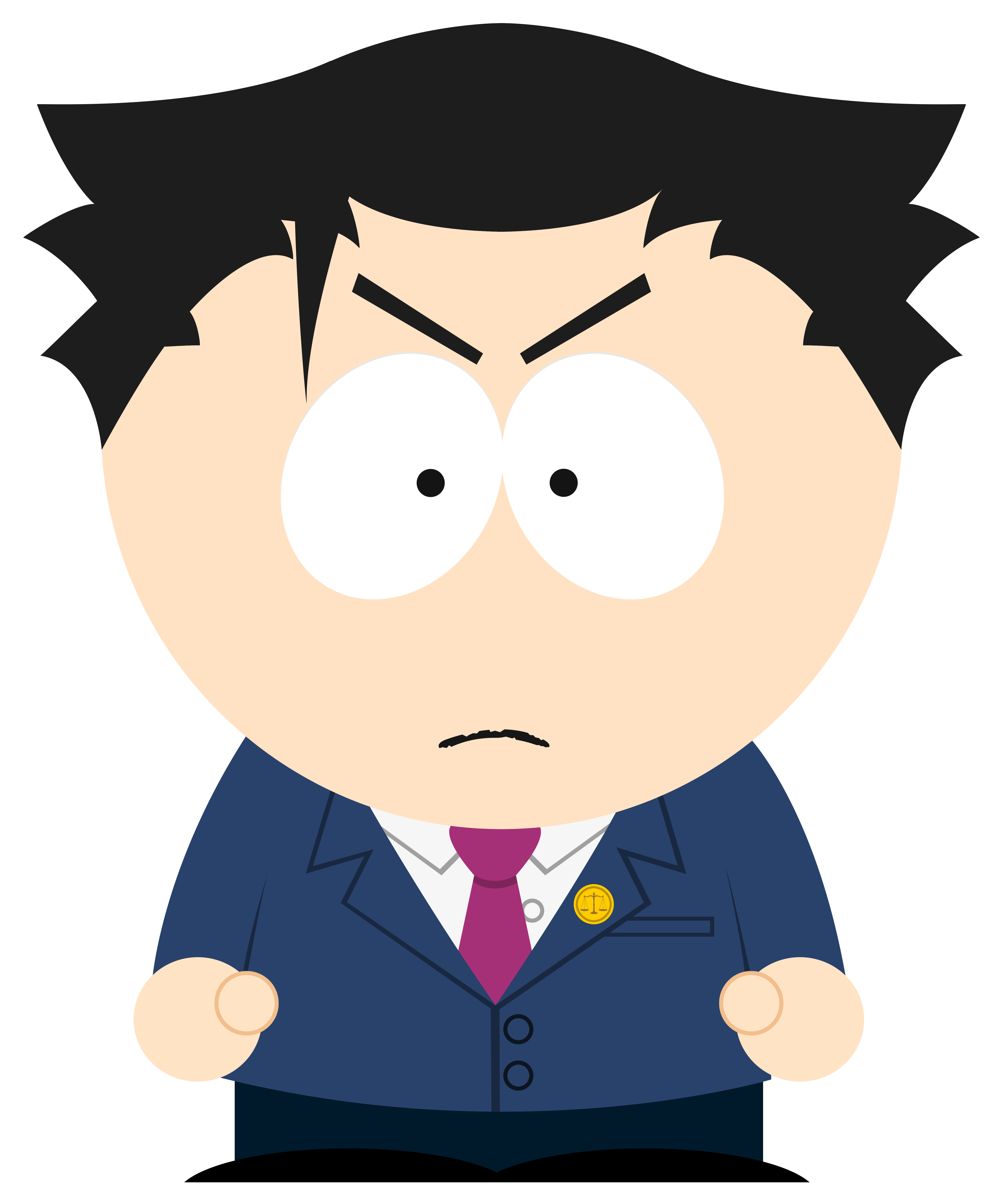 I recreated phoenix wright. Evidence clipart look for clue