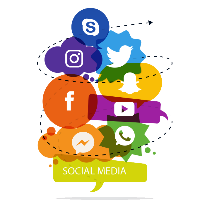 Is social media worth. Evidence clipart monthly report