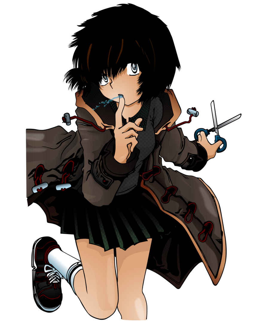 Evidence clipart mysterious girl. Friend x urabe large