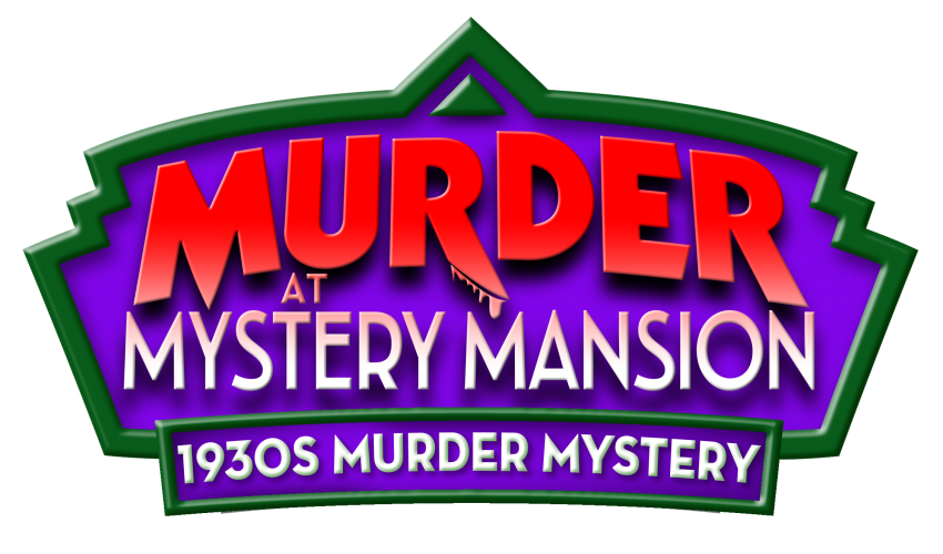 Murder at mansion . Evidence clipart mystery solved