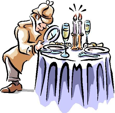 Mystery clipart mystery dinner. Wight murder enjoy a
