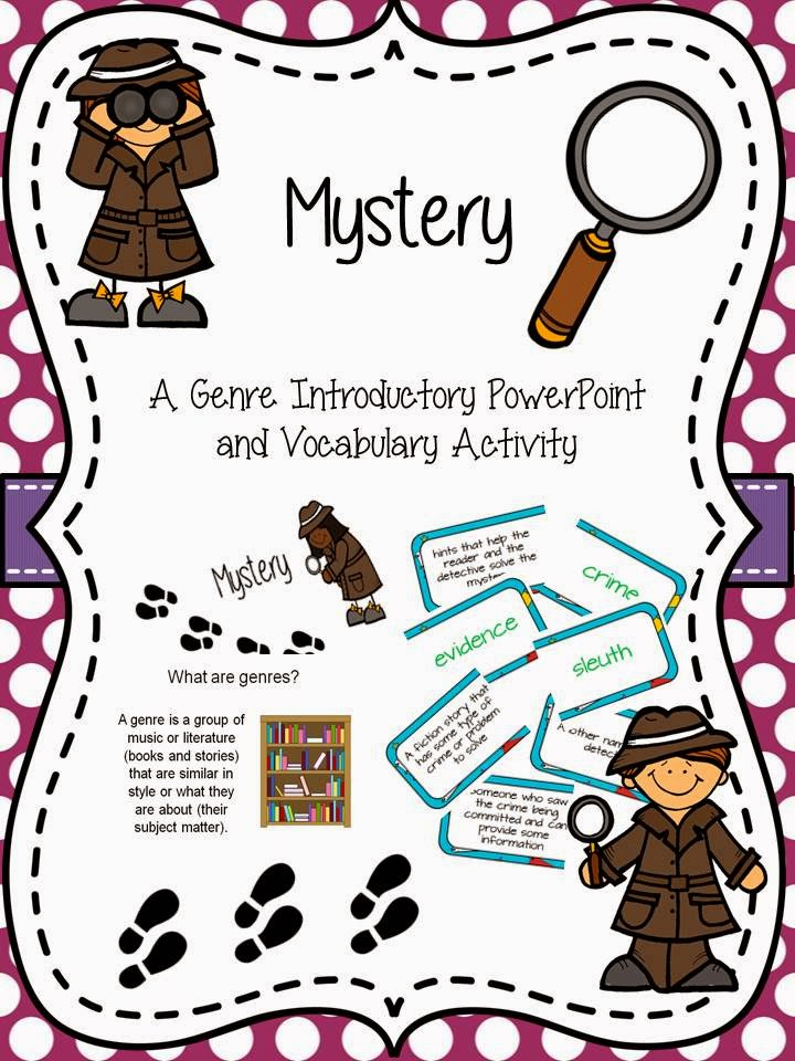 The book bug genre. Evidence clipart mystery solved